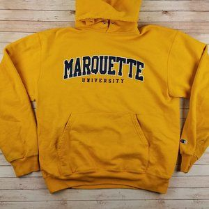 VTG 90s Marquette University Champion Hoodie